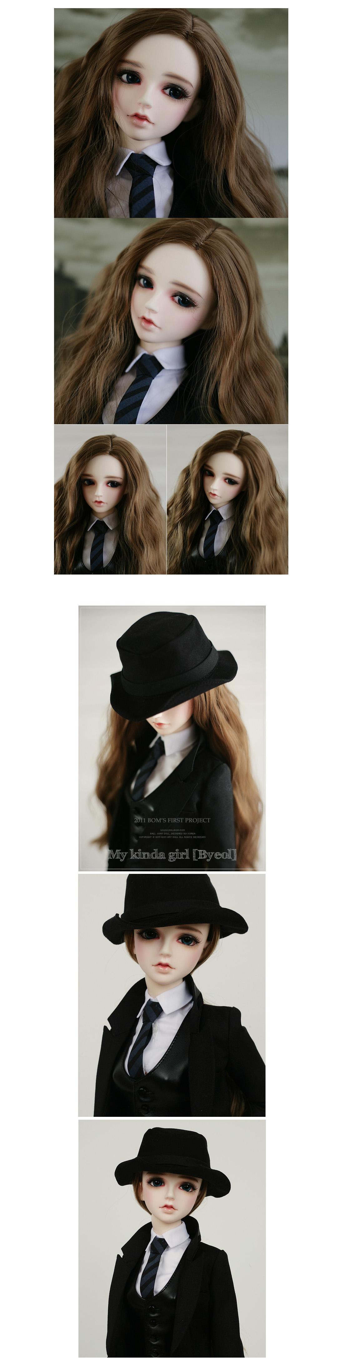 [Dollbom] Byeol My kinda girl - 60cm ball joint doll, sd