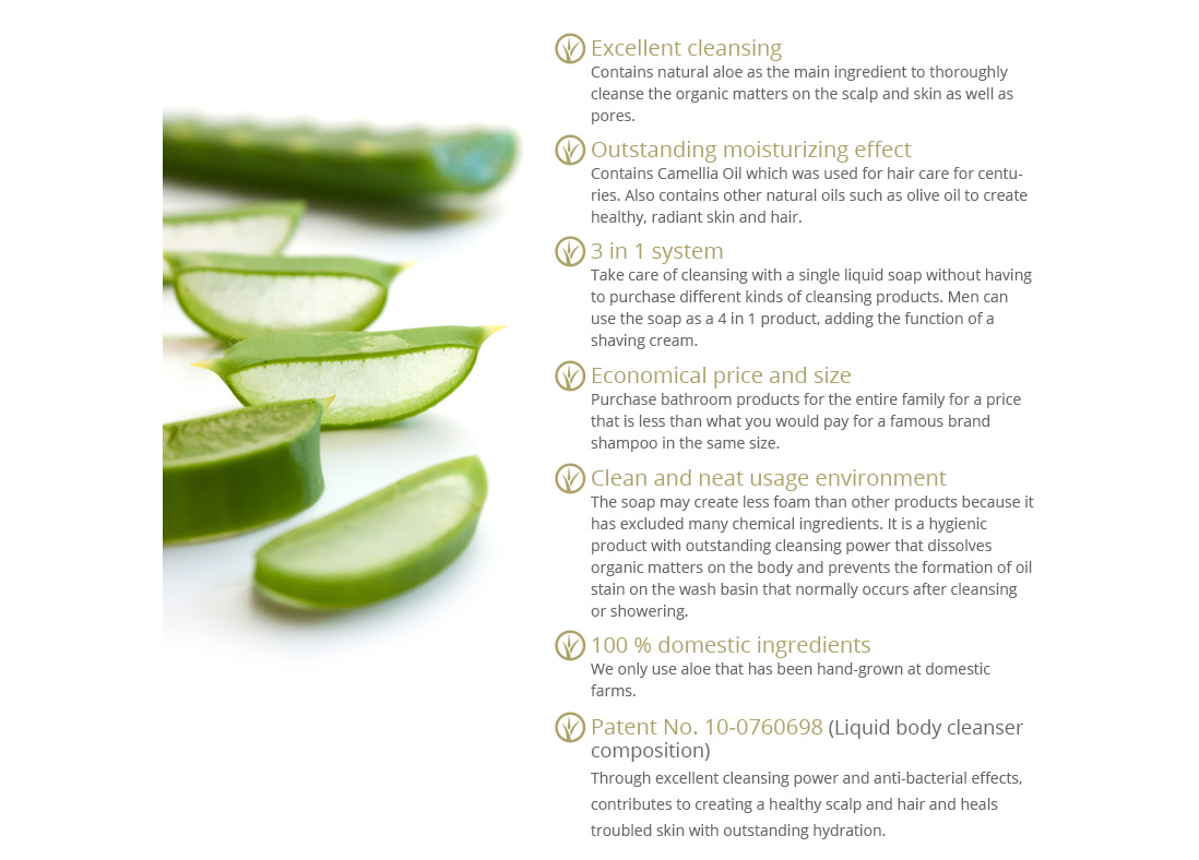 Aloe Clearable 3in1 (500g)